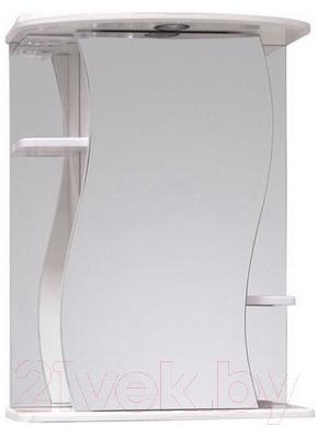 Купить Шкаф с зеркалом для ванной Onika, Лилия 55.01 R (205519), Россия