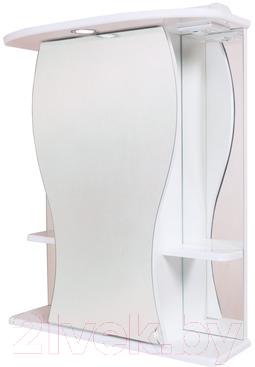 Купить Шкаф с зеркалом для ванной Onika, Фигура 55.01 L (205524), Россия