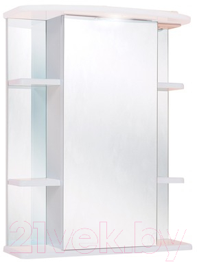 Купить Шкаф с зеркалом для ванной Onika, Глория 55.01 L (205504), Россия