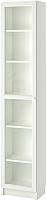 Шкаф-пенал с витриной Ikea Билли/Оксберг 892.874.09 -