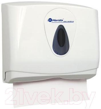 Купить Диспенсер для бумажных полотенец Merida, Top Mini ATS201 / PZ2TS (серая капля), Польша, пластик