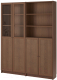 Шкаф с витриной Ikea Билли/Оксберг 192.807.22 -