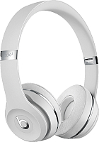 Наушники-гарнитура Beats Solo3 Wireless On-Ear Headphones / MUH52 (атласное серебро) -