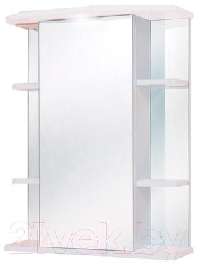 Купить Шкаф с зеркалом для ванной Onika, Глория 55.01 R (205505), Россия