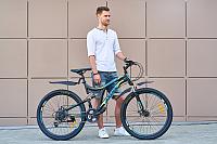 Велосипед Arena Flame 26SU18SH21 (черный/синий) -