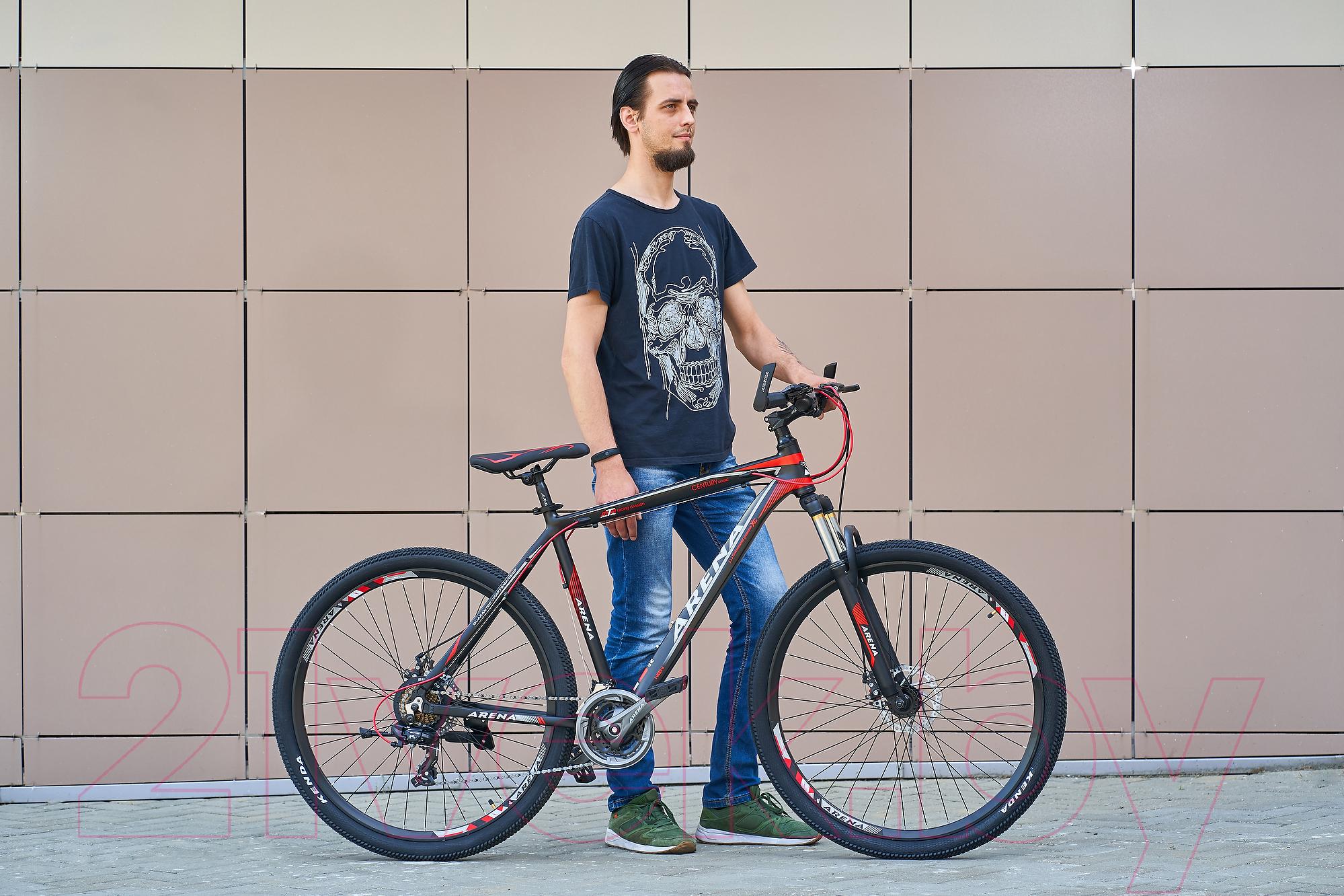 Купить Велосипед Arena, Space 29MT18AM08 (черный/красный), Китай
