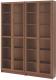 Шкаф с витриной Ikea Билли/Оксберг 592.439.97 -