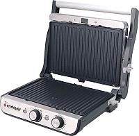 Электрогриль Endever Grillmaster 250 (серебристый/черный) -