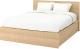 Двуспальная кровать Ikea Мальм 904.126.81 -