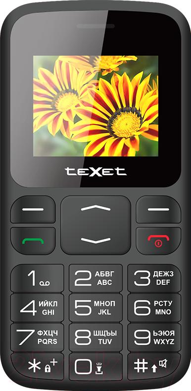 Купить Мобильный телефон Texet, TM-B208 (черный), Китай