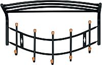 Вешалка для одежды Ника ВНП4Д/Ч (черный) -