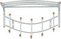 Вешалка для одежды Ника ВНП4Д/С (серый) -