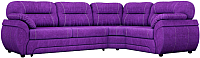 Диван угловой Лига Диванов Бруклин 111 правый / 60241 (велюр, фиолетовый) -