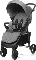 Детская прогулочная коляска 4Baby Rapid 2019 (grey) -