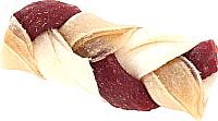 Лакомство для собак Green QZin Косичка сушеное ассорти с телятиной (41шт) -