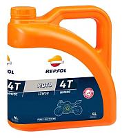 Моторное масло Repsol Moto Racing Hmeoc 4T 10W30 / RP160D54 (4л) -