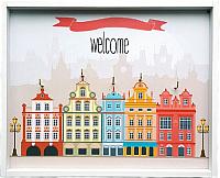 Ключница настенная Grifeldecor Амстердам / BZ182-4W241 -
