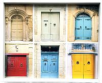 Ключница настенная Grifeldecor Двери / BZ182-4W240 -