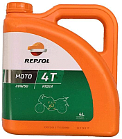 Моторное масло Repsol  Moto Rider 4T 20W50 / RP165Q54 (4л) -
