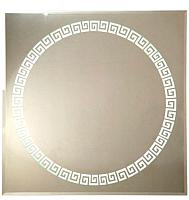 Зеркало Континент Византия Люкс 70x70 -