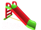 Горка Doloni Средняя / 014400/01 (зелёный/красный) -