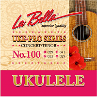 Струны для укулеле La Bella Set 100 Tenor/Concert -
