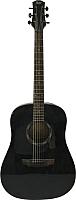 Акустическая гитара Flight D-130 BK -