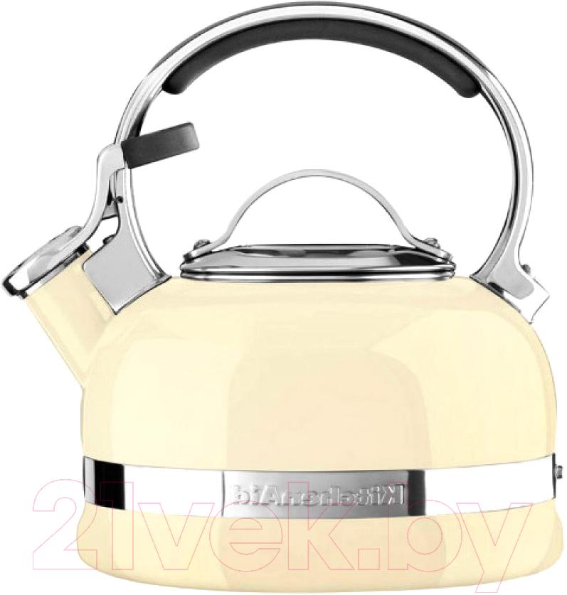 Купить Чайник со свистком KitchenAid, KTEN20SBAC, Китай, нержавеющая сталь