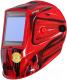 Сварочная маска Fubag Ultima 5-13 Panoramic / 992510 (красный) -