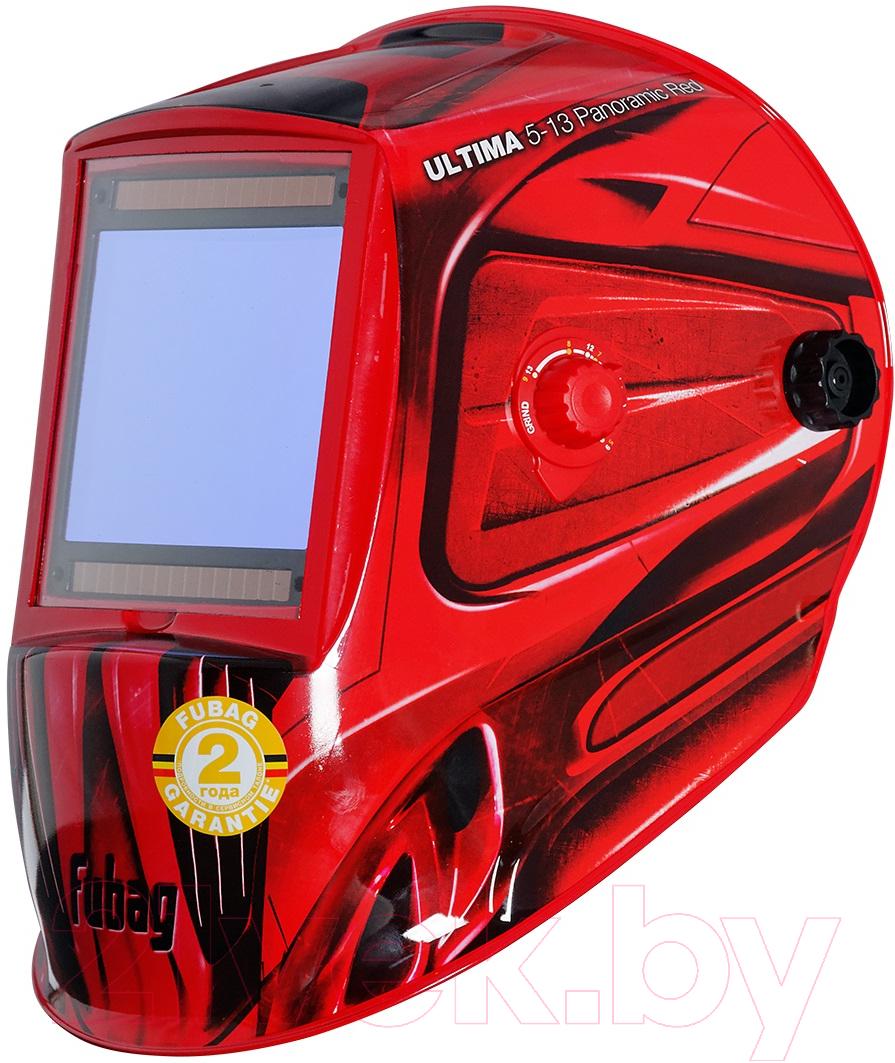 Купить Сварочная маска Fubag, Ultima 5-13 Panoramic / 992510 (красный), Китай