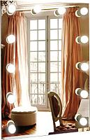 Зеркало интерьерное Континент 12 ламп 60x80 -