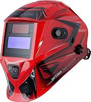 Сварочная маска Fubag Optima Team 9-13 / 38075 (красный) -