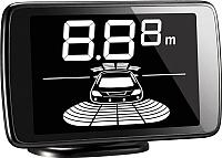 Парковочный радар ParkMaster 238-A (черный, 8-ми датчиковый) -
