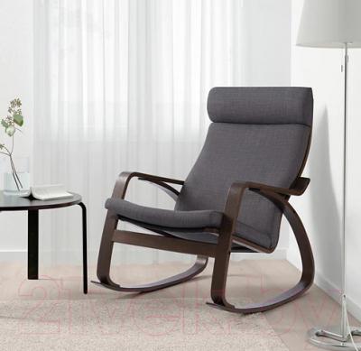 кресло качалка Ikea поэнг 493 028 31
