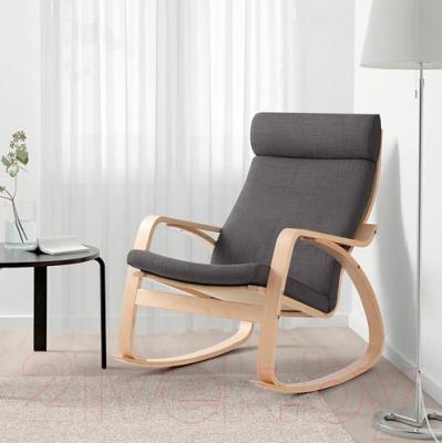 кресло качалка Ikea поэнг 593 028 21
