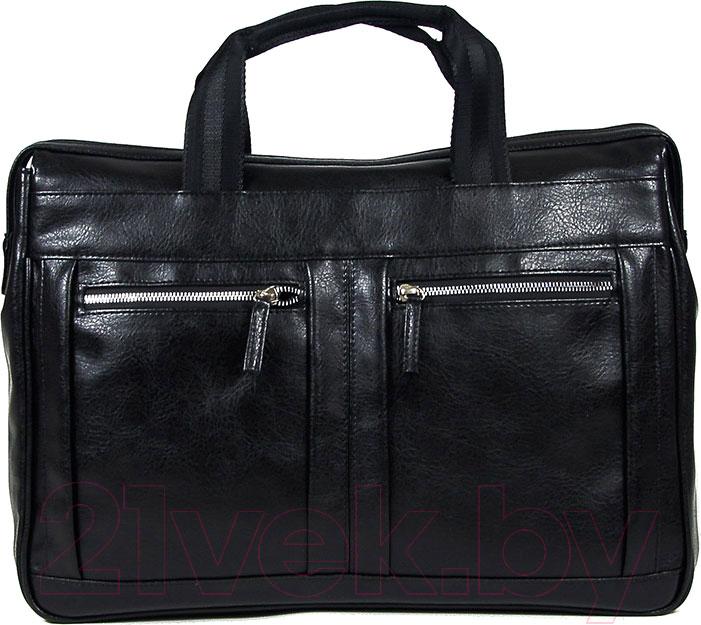 Купить Сумка BorZa, 718-02201 (черный), Беларусь, искусственная кожа