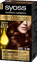 Крем-краска для волос Syoss Oleo Intense стойкая 5-28 (горячий шоколад) -