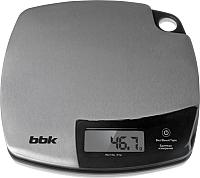 Кухонные весы BBK KS153М (нержавеющая сталь/черный) -
