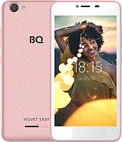 Смартфон BQ Velvet Easy BQ-5000G (розовое золото) -