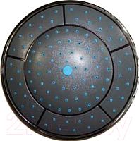 Верхний душ Erlit 240 без подсветки (черный) -