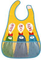 Нагрудник детский Happy Baby Waterproof Baby Bib 16005 (птички) -