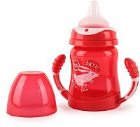 Поильник Happy Baby 14013 (210мл, красный) -