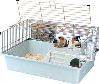 Клетка для грызунов Ferplast Cavie 15 Tris / 57077470 (голубой) -
