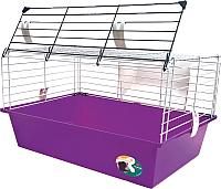 Клетка для грызунов Ferplast Cavie 60 / 57012411W2 (фиолетовый) -