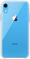 Чехол-накладка Apple Clear Case для iPhone XR / MRW62 -