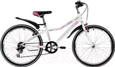 Велосипед Novatrack Alice 24SH6SV.ALICE.10WT9