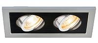 Точечный светильник Elektrostandard 1031/2 MR16 SL/BK -