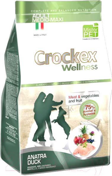 Корм для собак Crockex Wellness, Medio-Maxi Adult Duck & Rice/ MCF3512 (12кг), Италия  - купить со скидкой