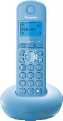 Беспроводной телефон Panasonic KX-TGB210 (голубой) - общий вид