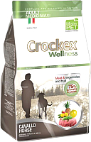 Корм для собак Crockex Wellness Medio-Maxi Adult Horse & Rice / MCF3712 (12кг) -